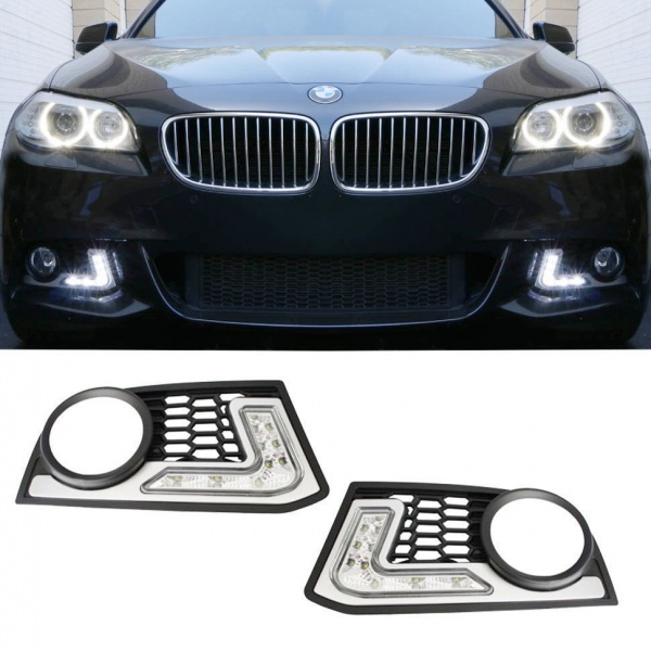Grila Drl Led Bmw Seria 5 F10 2010-2015 M-Tech